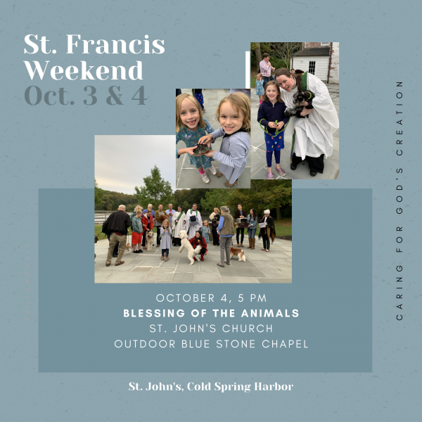 St. Francis Day Blessing of the Animals