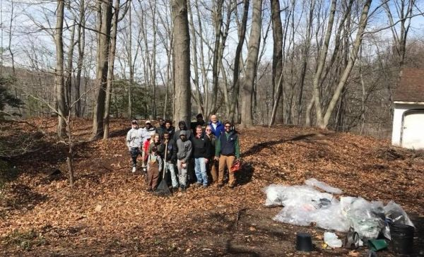 African-American Cemetery Winter Clean-Up