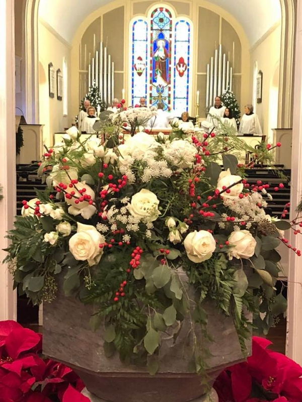 Last Call for Christmas Flower Donations