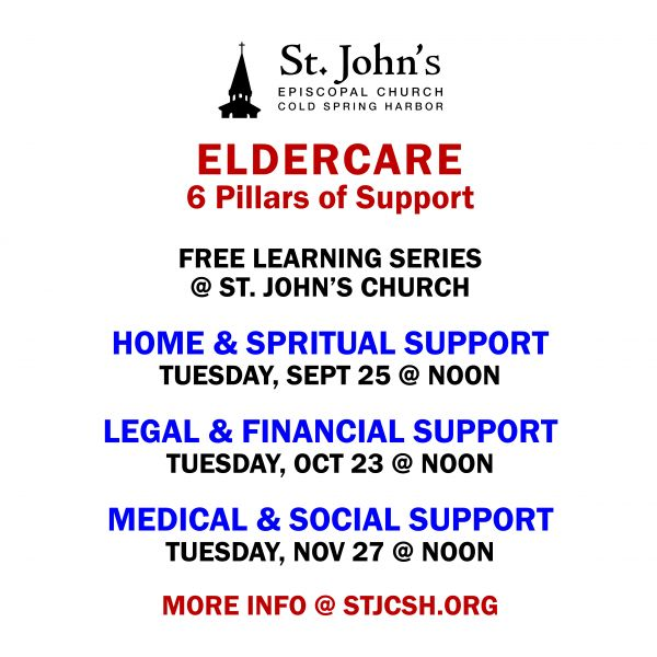 Lunch & Learn: Eldercare Six Pillars of Support Part 3