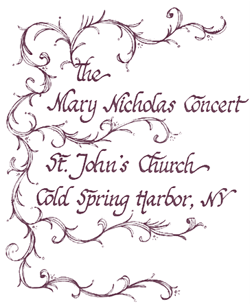 The Mary Nicholas Concert - A Music Tradition