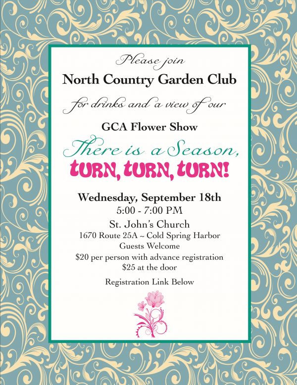 North Country Garden Club's National Flower Show at St. John's