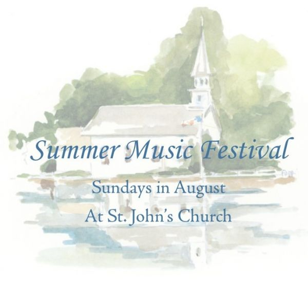 Summer Music Festival: Another great reason to come to church in August!