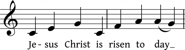Laudate Dominum - Easter Day Offertory & Hymn