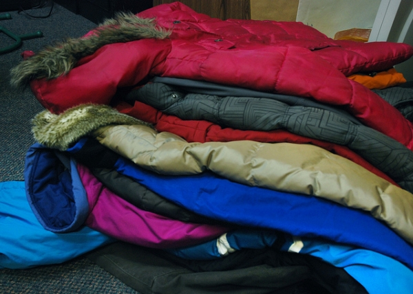 Winter Clothing Drive: Time to clean out your closets!